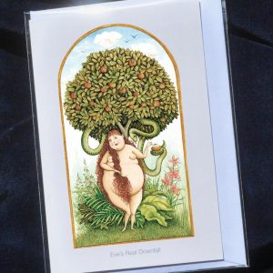 Eve's Real Downfall - Heavenly Bodies Greetings Card